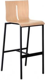 barová židle TWIST 243-N1, kostra černá