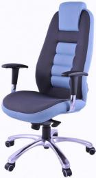křeslo STRIPO 5352 - chrom kancelárské kreslo