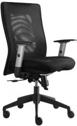 židle LEXA bez podhlavníku, černá