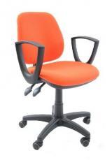 židle KLASIK BZJ 001 asynchronní kancelárská stolička